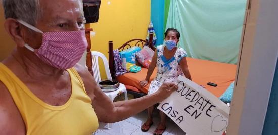 Es un milagro... Rosita con 76 años venció el coronavirus Covid-19