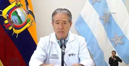Ecuador avanza en plan estadístico para mitigar propagación del coronavirus