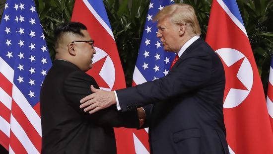 Trump sobre los supuestos problemas de salud de Kim: ''le deseo lo mejor''