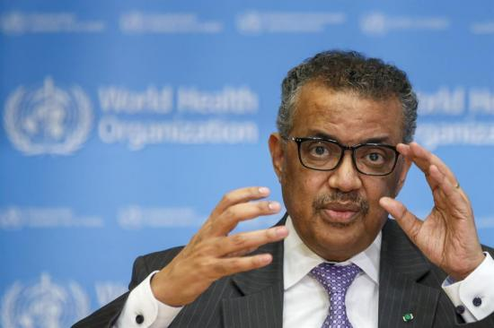 Director general OMS: ''El virus estará con nosotros durante largo tiempo''