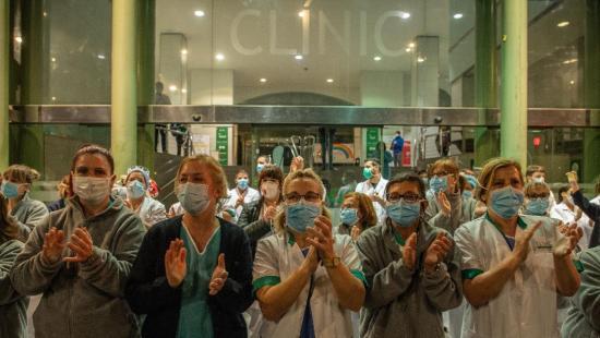 Se estabiliza en España la cifra de muertes por coronavirus