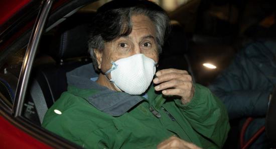 Expresidente peruano Toledo se saltó el arresto domiciliario en 4 ocasiones