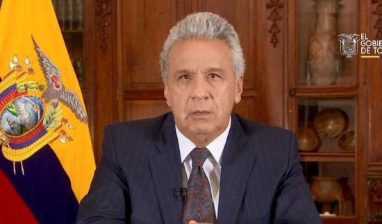 Presidente de Ecuador da detalles de distanciamiento social
