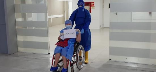 Hospital de Especialidades de Portoviejo da de alta a 75 pacientes de covid-19