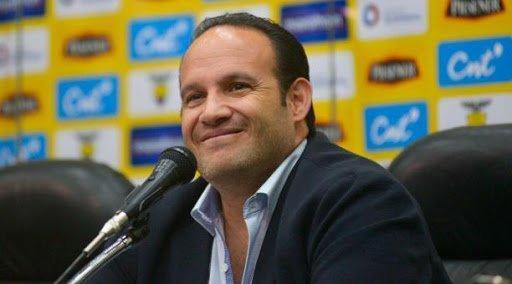 Secretaría del Deporte de Ecuador confirma a Egas como presidente de la FEF