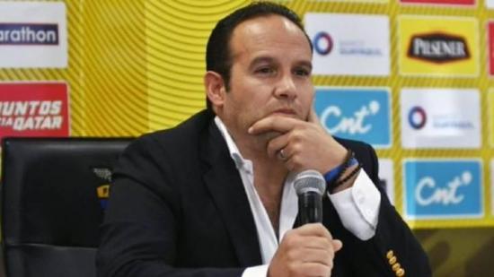 El destituido Francisco Egas defiende su presidencia en el fútbol de Ecuador