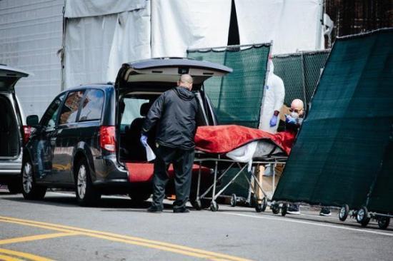 Récord de fallecidos por COVID-19 en Nueva Jersey con 402 muertos en 24 horas