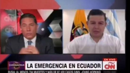 El Secretario de Gobierno Juan Roldán y el periodista Fernando del Rincón protagonizan fuerte discusión en vivo