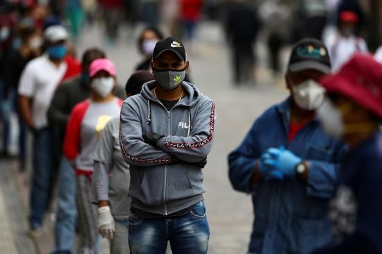 El coronavirus Covid-19 entrará a la categoría de enfermedades profesionales en Ecuador