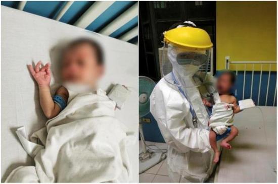 Bebé de 16 días de nacido supera Covid-19 en Filipinas, el paciente de menor edad del mundo