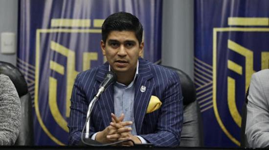 La FIFA no reconoce al manabita Jaime Estrada como presidente de la FEF