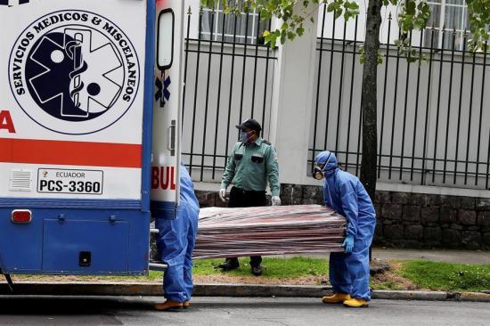 Guayas registró más de 10.000 muertes por diferentes causas en abril