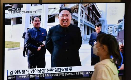 Kim Jong-un reaparece en público tras casi tres semanas de ausencia
