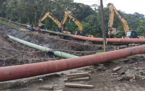 Oleoducto ecuatoriano recupera capacidad operativa luego de rotura