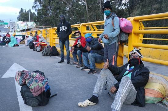 Gobierno de Nicolás Maduro activa plan para el retorno de venezolanos desde Ecuador