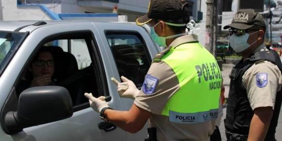 20 policías se han contagiado de coronavirus Covid-19 en Manabí