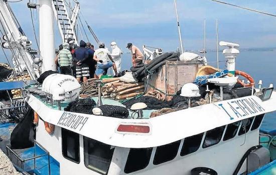 Pescador manabita murió en alta mar con sospechas de coronavirus Covid-19