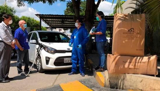 Hospital del IESS en Portoviejo recibió ayuda de empresa privada