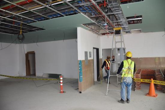 Retoman los trabajos en los hospitales del norte de Manabí