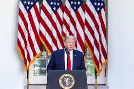 Trump sobre el fuerte aumento del paro: 'Todos los empleos volverán pronto'