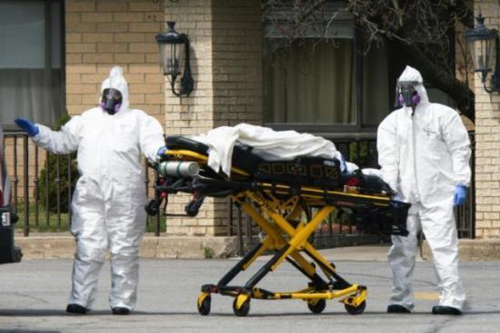 Un tercio de las muertes por COVID-19 en EEUU son en geriátricos, según NYT