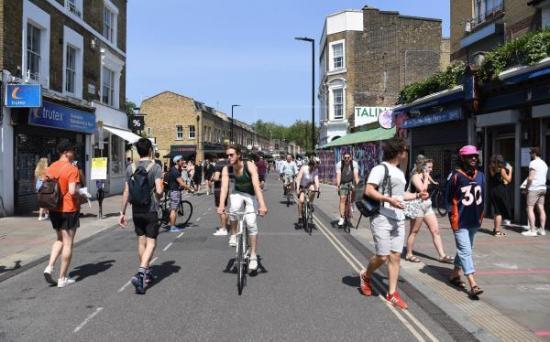 El Reino Unido potenciará la bicicleta para facilitar el retorno al trabajo