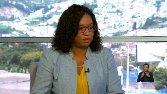 Alexandra Ocles renuncia al cargo de directora general de Gestión de Riesgos