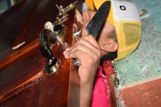 PORTOVIEJO: Ladrones se meten en dos viviendas en la madrugada