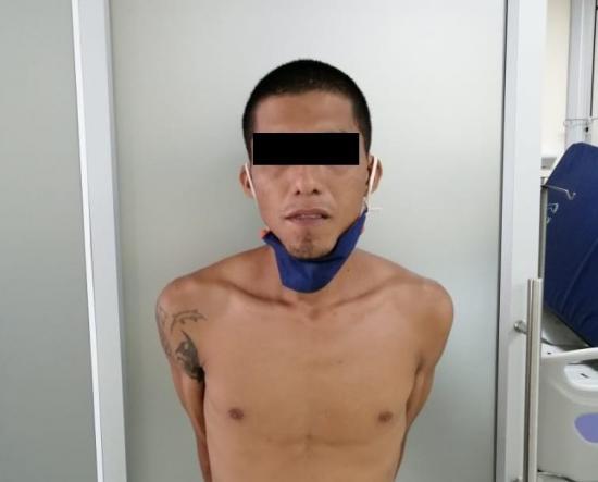 PORTOVIEJO: Hombre cae con droga durante el horario de toque de queda
