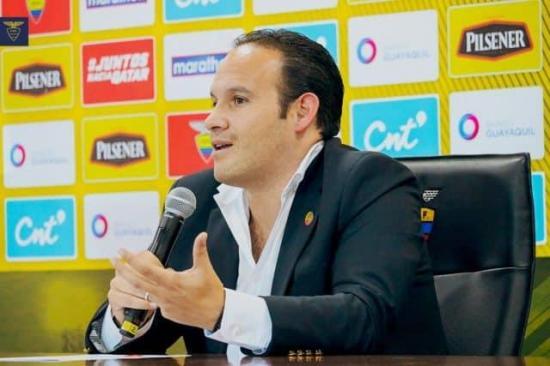 Egas: 'Ecuador dispone de 774.000 dólares para sus clubes del fondo Conmebol'