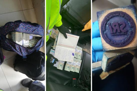 Detienen a nueve personas presuntamente vinculadas con red de corrupción en Manabí