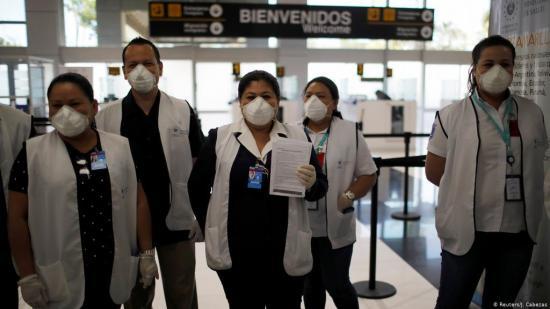Al menos 100.000 trabajadores sanitarios en el mundo contrajeron el COVID-19