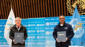 CORONAVIRUS: COI y OMS estrechan lazos para promover estilos de vida saludables