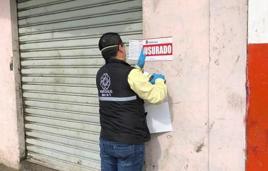 Desde que inició la emergencia en Portoviejo han clausurado 989 locales