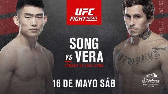 'Chito' Vera y Song Yadong llegan al peso pactado para pelear esta noche en la UFC