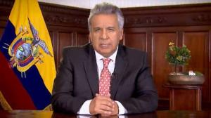 Presidente de Ecuador extiende 30 días el estado de excepción por COVID-19