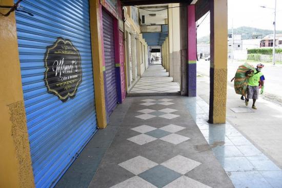 Comercio en Portoviejo: Pérdidas en ventas llegarían a los $300 millones