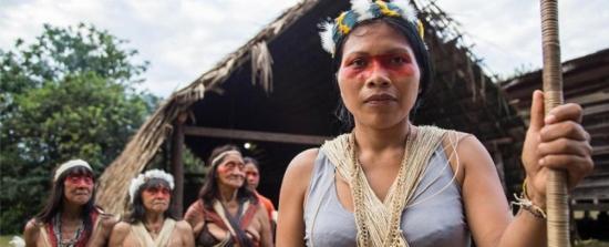 Indígenas de Ecuador confirman primer caso de COVID-19 en mujer waorani