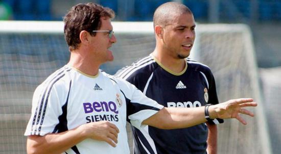 Fabio Capello: 'Ronaldo Nazario fue el que me creó más problemas en el vestuario'