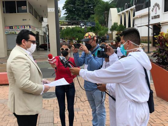 PORTOVIEJO: Denuncian presunto caso de peculado en el hospital Verdi Cevallos