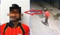 PEDERNALES: Hombre fue capturado después de ser grabado en un robo