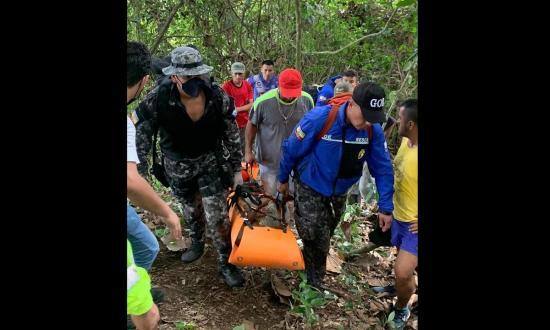 Hombre es rescatado de un abismo tras más de dos días de desaparición