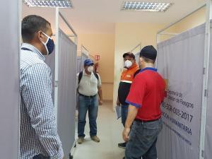 En Manabí verifican espacios para Centros de Aislamientos Temporales