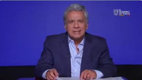 Presidente Lenín Moreno anuncia el cierre de la Secretaría Anticorrupción de Ecuador