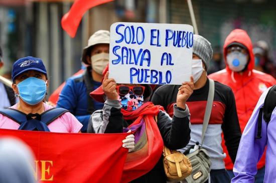 La UNE convoca a movilizaciones contra las medidas económicas de Lenín Moreno