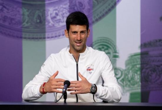 Djokovic organizará en junio un torneo en los Balcanes