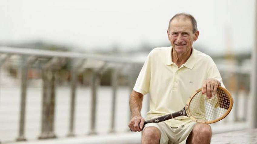 Falleció Ashley Cooper, gran leyenda del tenis australiano, con 83 años
