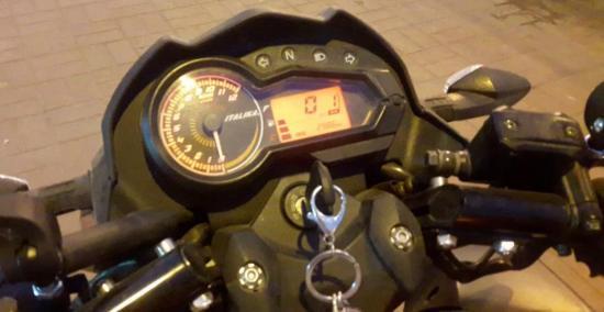 En Portoviejo se roban una moto que habían dejado estacionada
