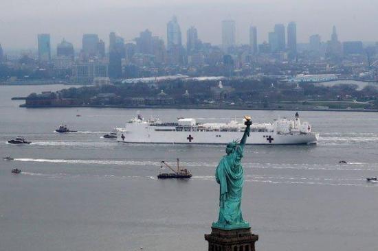 Nueva York tiene repunte en fallecidos por COVID-19 pero apuntala reapertura