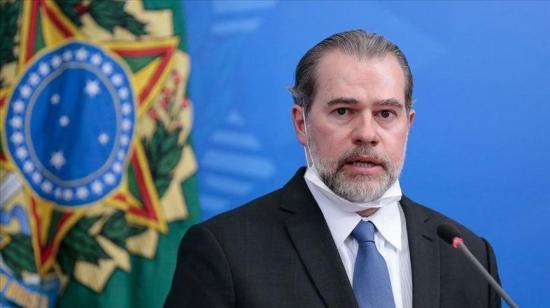 Presidente del Supremo en Brasil presenta síntomas de COVID-19 tras cirugía